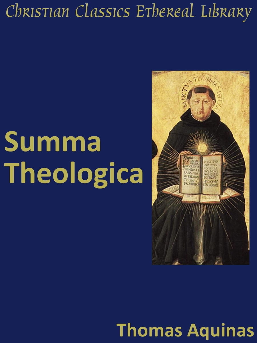 summary of st thomas aquinas treastie on Through the development of trinitarian theology in the work of saint thomas aquinas  13 st augustine gave the definitive formula una essentia – tres substantiae.