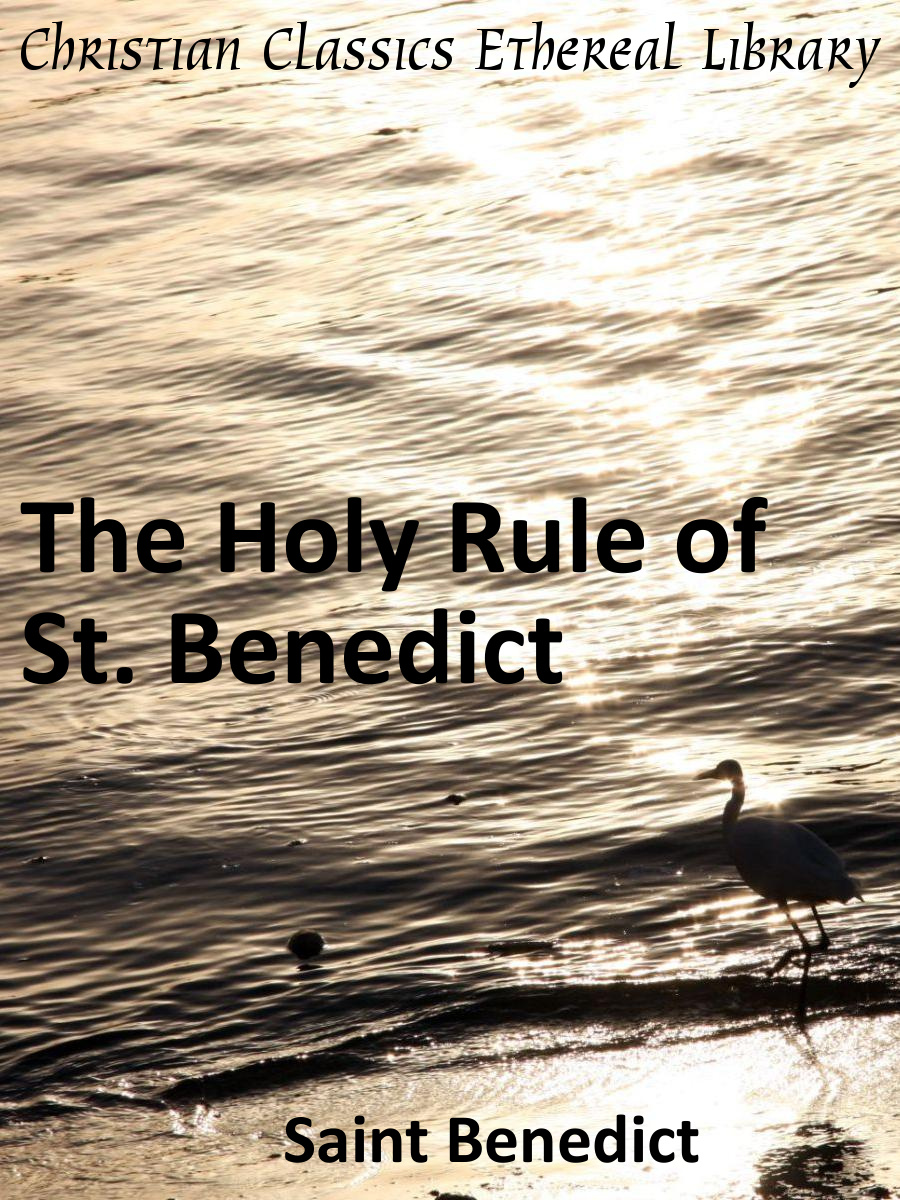 benedict summary Study the holy rule of st benedict introduction to study the holy rule of saint benedict and abbot philip lawrence's accompanying commentary.