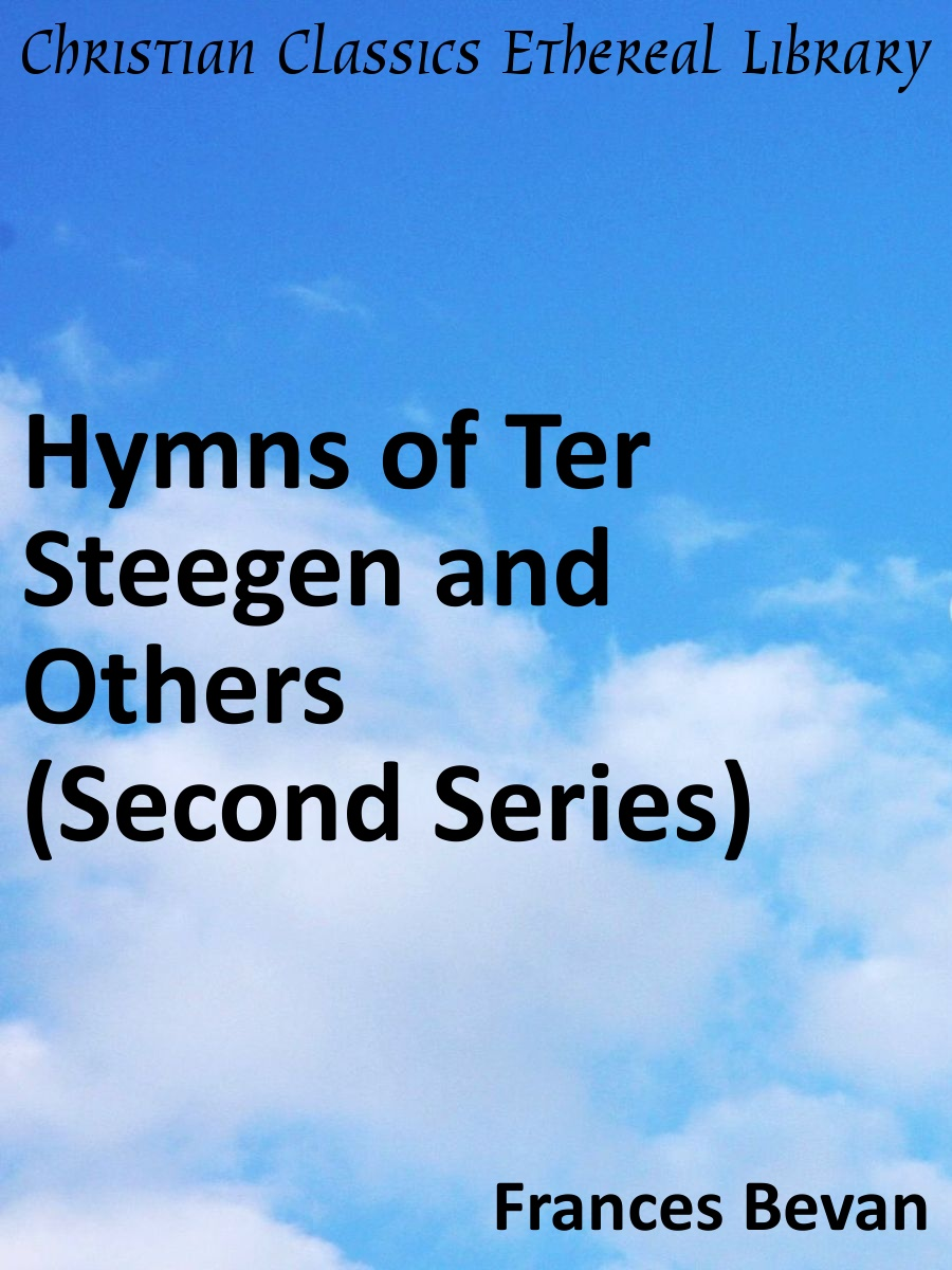Hymns of ter steegen and others second series for Meaning of terrace in english
