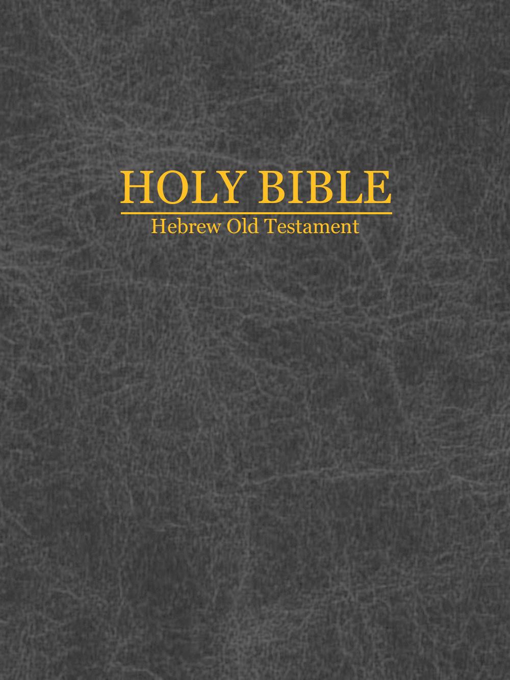 holy bible old testament pdf