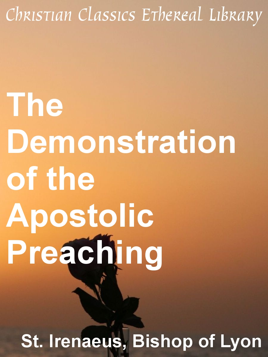 Demonstration of the Apostolic Preaching - Christian