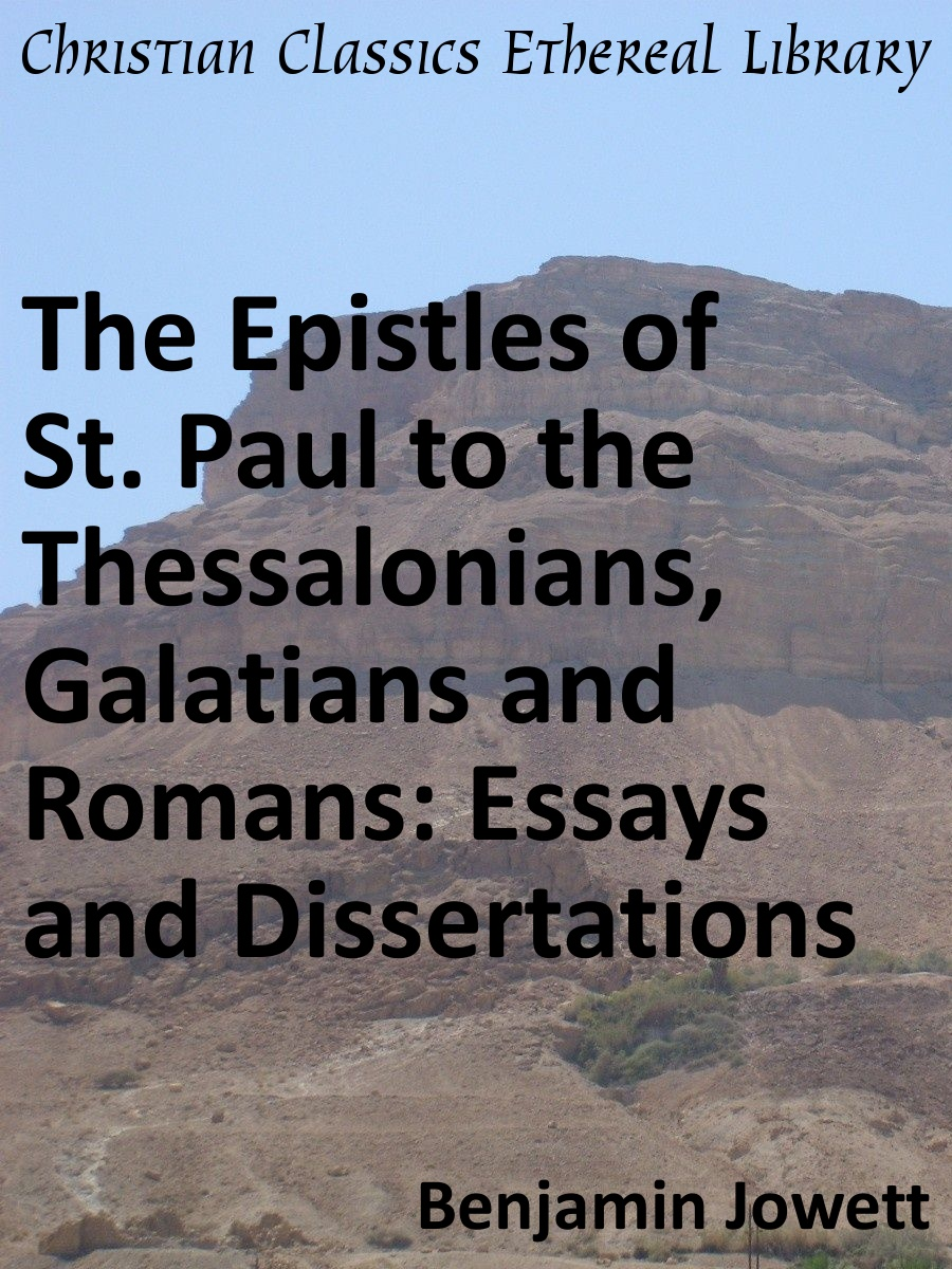 essays on apostle paul We have two major sources of information about the apostle paul's ongoing ministry during his years of imprisonment on the one hand.