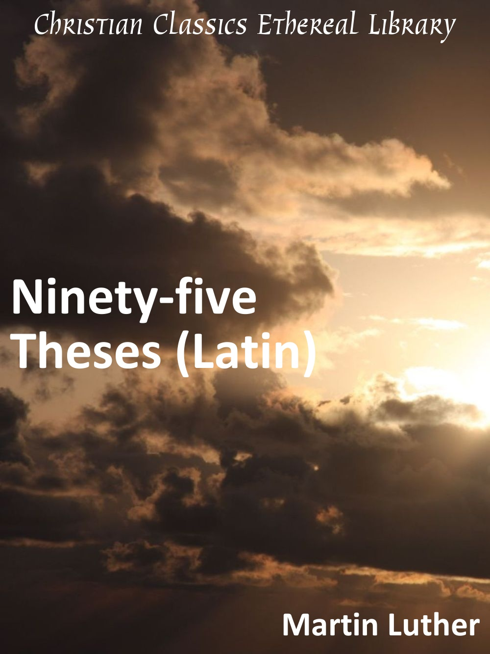 the author of the ninety-five theses was quizlet By almost any reckoning, the ninety-five thesesranks as the most important text of the reformation, if not insubstance at least in impact as the anniversary of their posting on thechurch door in wittenberg approaches, what better way to remember.