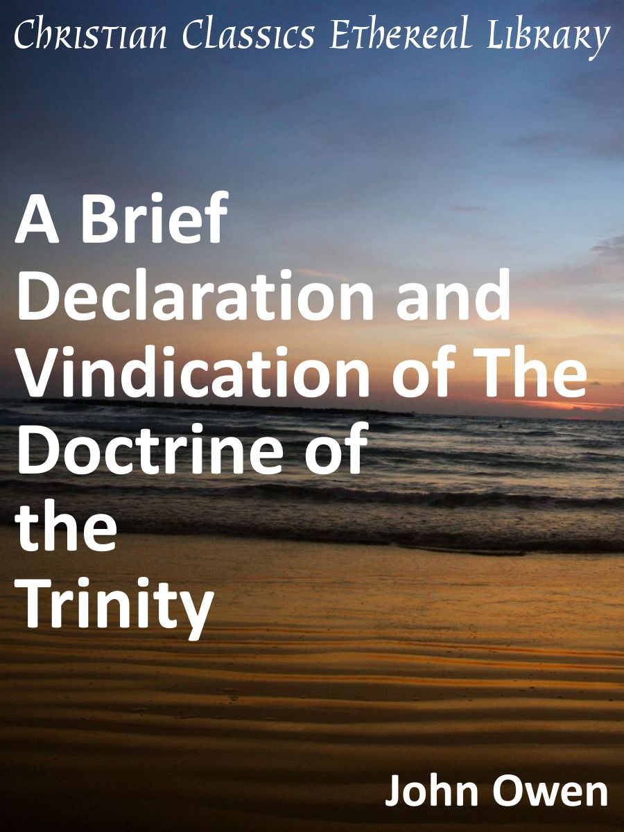Declaration and Vindication of the Doctrine of the Trinity
