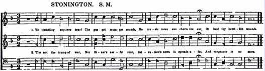 The Southern Harmony, and Musical Companion (New ed. thoroughly rev. and much enl.) page 570