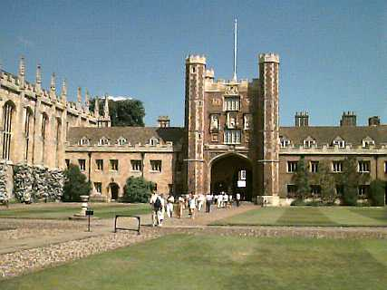 Tour and map of trinity college cambridge official site